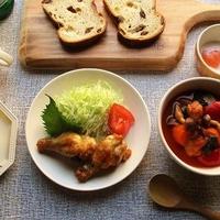 『GABANクローブ〈ホール〉』が香る、鶏と野菜のトマトスープ煮込み♪
