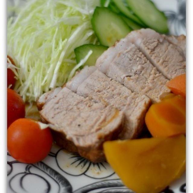 電気圧力鍋4L【GEDA40】厚切りロース肉のまろやかバルサミコ煮