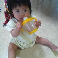 娘・ハナコ もうすぐ8カ月。