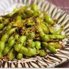 焼き枝豆のチリガーリック味