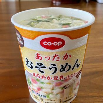 コープのカップ麺