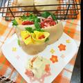 全粒粉の素朴ピタパン(ノンオイル・ノンシュガー) by おうちでごはんさん