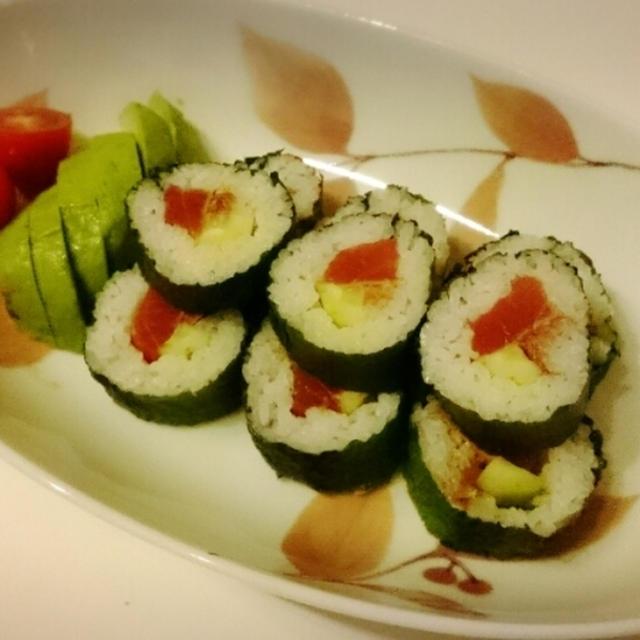 久しぶりに巻き寿司☆