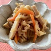 砂糖・みりん・お出汁も要らない♪ 切り干し大根と高野豆腐の煮物