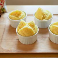 材料4つ!天ぷら粉でシンプル蒸しパン♪
