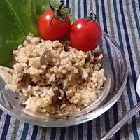 シーズニングで簡単♪ビリヤニ風きのこのブルグルサラダ♡ #GABAN #ビリヤニ #ブルグル