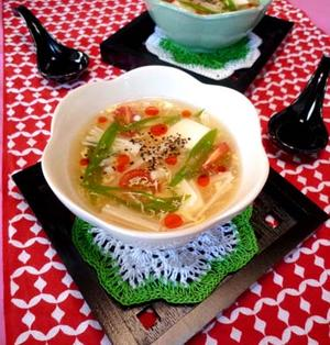 台湾酸辣湯サンラータンスープ☆簡単やみつきに・