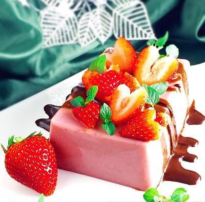 乳製品不使用♪ヴィーガン対応♪お豆腐で超絶簡単♪イチゴのテリーヌ