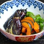 【作りおきレシピ】なすとかぼちゃの南蛮漬け