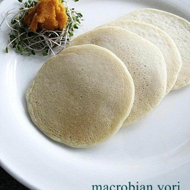 【マクロビ簡単スィーツ】里芋のパンケーキ