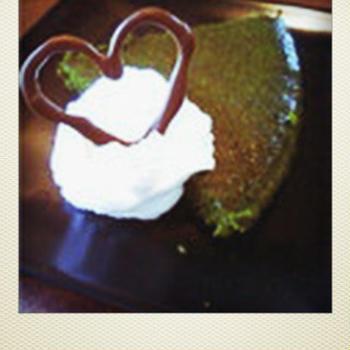 抹茶ホワイトチョコケーキ
