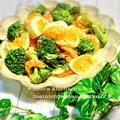 *みりんで美味しく♪簡単♬海老とブロッコリーとゆで卵のデリサラダ*