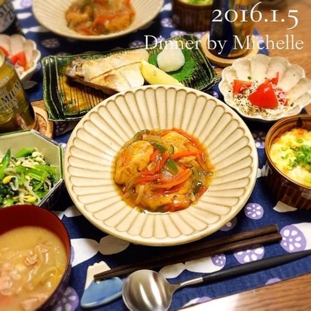 がんもの野菜あんかけで優しい和食ごはん
