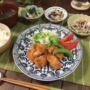 鶏唐味噌スイチリソース♪といろいろ副菜…せっかち