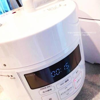 シロカ圧力鍋