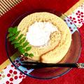 塩麹と和三盆のしっとりふわふわロールケーキ