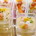 夏のおもてなしに♫「採れたてトウモロコシのシンプルムース」、バラ by Yoshikoさん