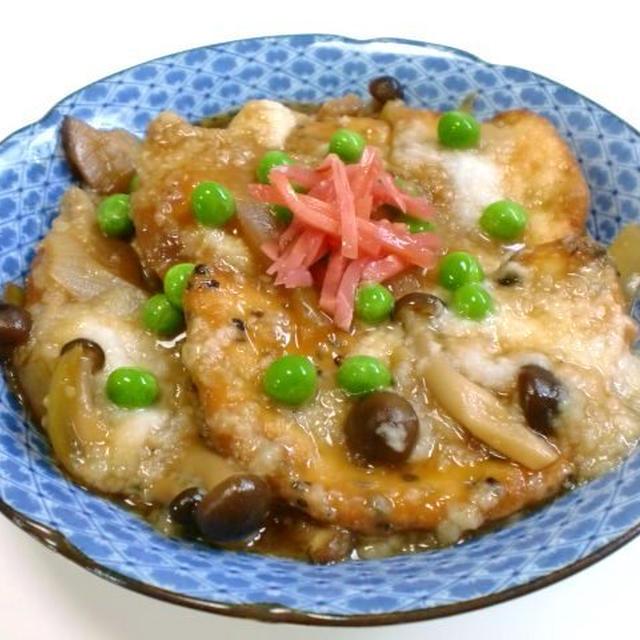 煮煎餅の山芋とじ
