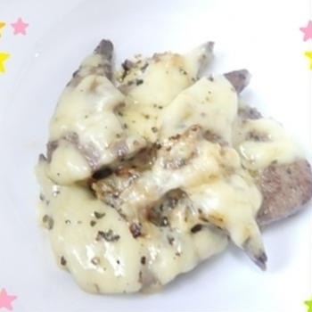 イタリア風レバーチーズ
