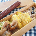 冷めてもおいしい!鶏むね肉のカレー風味ピカタ弁当。