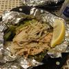 鮭と小松菜のペパーミックス焼き