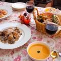 ポルチーニと鶏胸肉のクリーム煮&かぼちゃのスープ by shoko♪さん