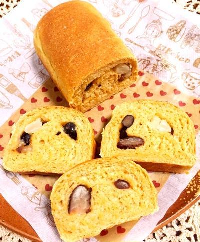 黒豆きな粉パン
