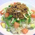 ヘルシー♪お豆腐&野菜いっぱいタコライス