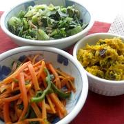 野菜の副菜いろいろ