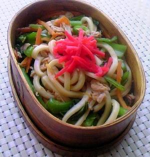 10.6 【レシピ】ツナ缶で焼きうどんのお弁当