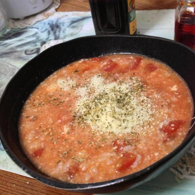「トマト粥」とか