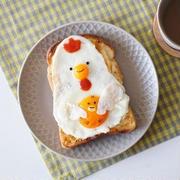卵がキャンバスに!?無限のアイデアで楽しむ「#目玉焼きアート」