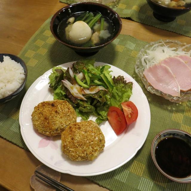 """""""揚げないコロッケ""""&""""真夏の雑煮"""" と 家庭菜園♪"""