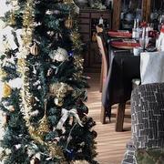 イタリアンの「クリスマスレッスン」 牛肉のタリアータ~パンドーロのクリスマスケーキ♪