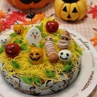 ハロウィン★アイデアSUSHI+レシピ♡デコ五目すしケーキ&身体が喜ぶ美味しい食べ方