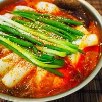 キムチ鍋とフォー