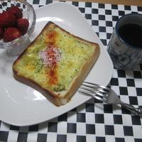 朝ごはんに☆これ1品でOK!クロックマダム風トースト