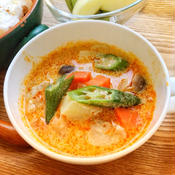 レッドカレースープ