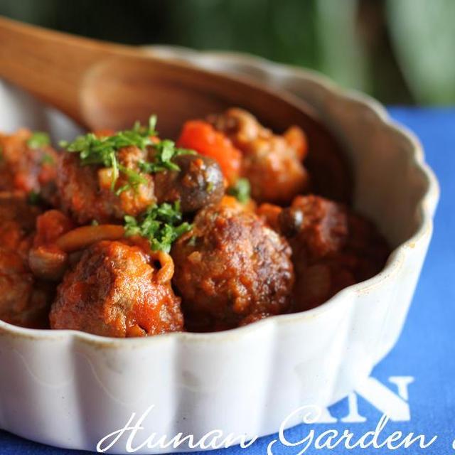 アルボンディガス(ミートボールのトマト煮) レシピ