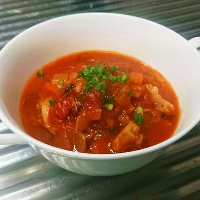 旨味の相乗効果!旨いに理由あり。グルタミン酸×グアニル酸。冬に最適なスープ!