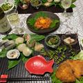 誕生日の食卓〜サーモンのユッケetcとフーディストサービス様からの贈り物 by watakoさん