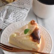 ジューシー♪梨のチーズケーキ