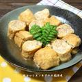 豚小間肉とエノキダケの稲荷煮