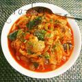 ほっこり美味しい*鶏肉と茄子のチリチーズトマト煮込み