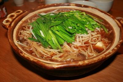 真夏のキムチ鍋
