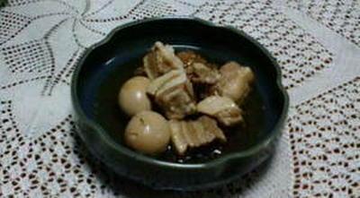 豚の梅風味角煮