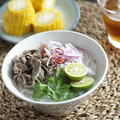 クッキングペーストで牛肉のフォー「フォー・ボー」のレシピ【スパイス大使】