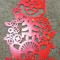 【台湾】の 春聯 ★ 一年は「もらいもの」で飾ります・笑