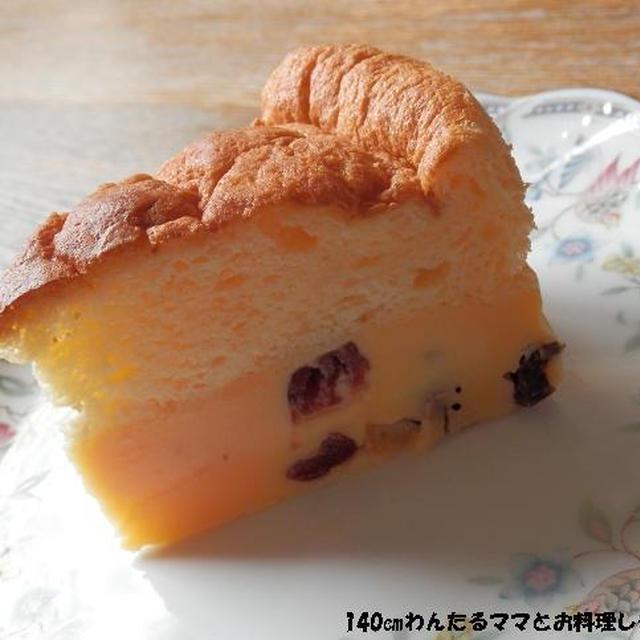 簡単★ホワイトチョコのマジックケーキ