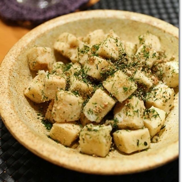高野豆腐のから揚げ だし&青海苔まぶし